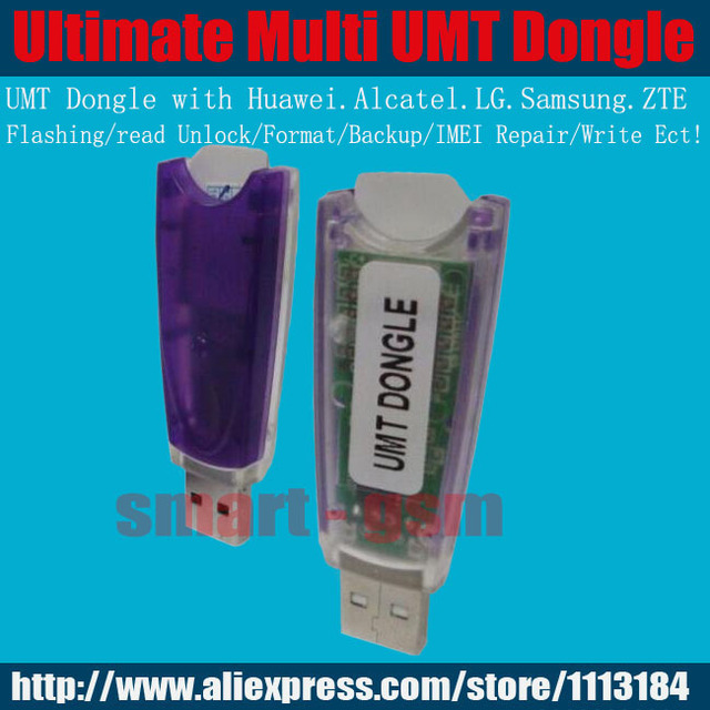 US $45 0 |Ultimate Multi Tool Dongle UMT Dongle For Huawei for Alcatel for  Lg for samsung Flashing/Read Unlock IMEI Repair -in Telecom Parts from