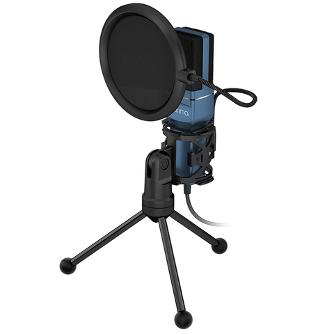 Yanmai SF777 USB Condenser Microphone Kit Podcast Studio Microfone Plug and Play Streaming Mic for PC Laptop YouTube Gaming Lahore