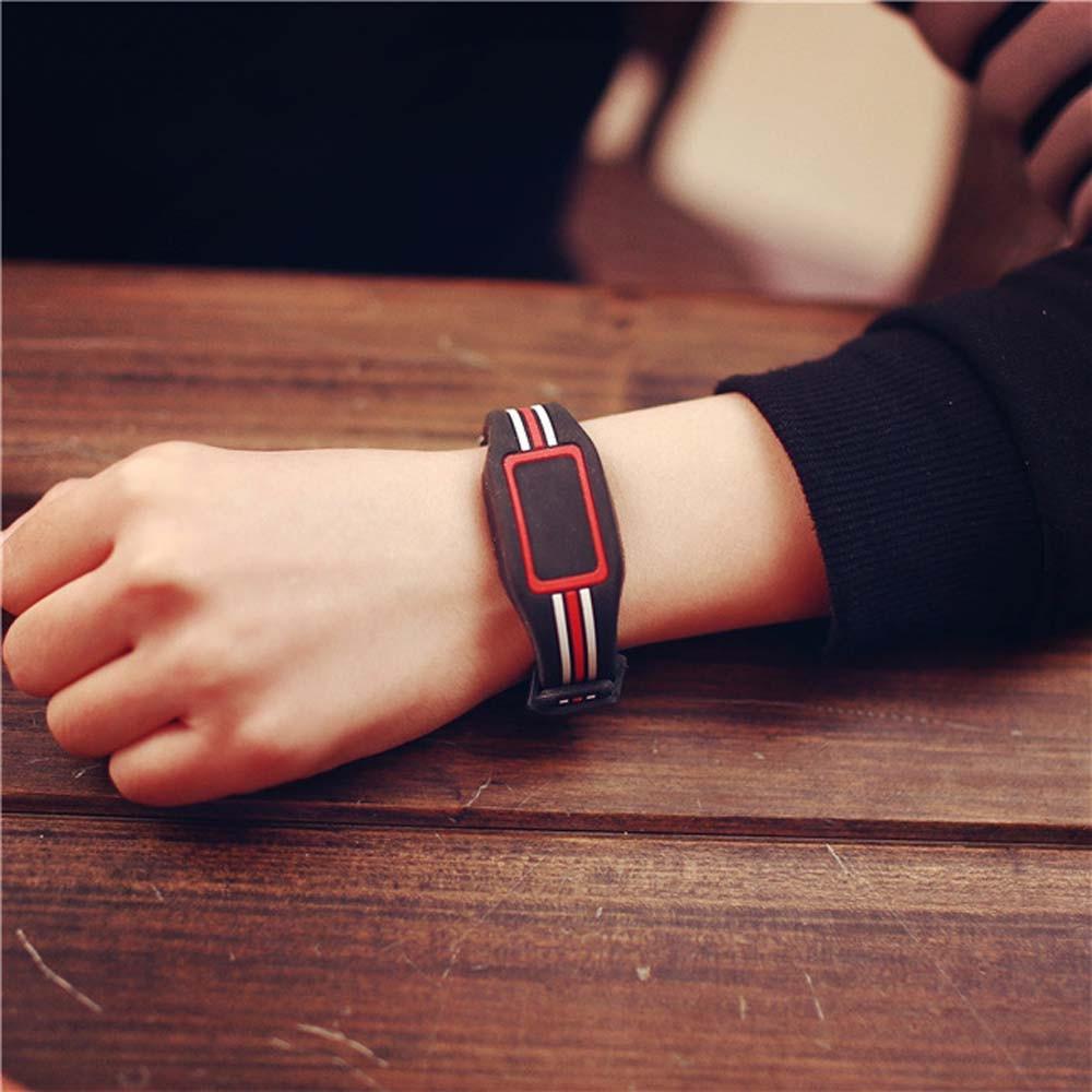 Meeste naiste kellad silmatorkav punane LED spordi käevõru Touch - Meeste käekellad - Foto 2