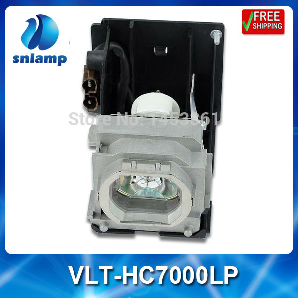 Compatible projector bulb lamp VLT-HC7000LP with housing for HC6500 HC7000 replacement lamp bulb with housing vlt xd206lp for md307x md307s xd206u sd206u sd206