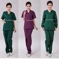 Atacado uniformes clinicos mulheres salão de beleza uniforme da enfermeira design vestidos de médicos médica desgaste do trabalho Terno de manga longa curta spa