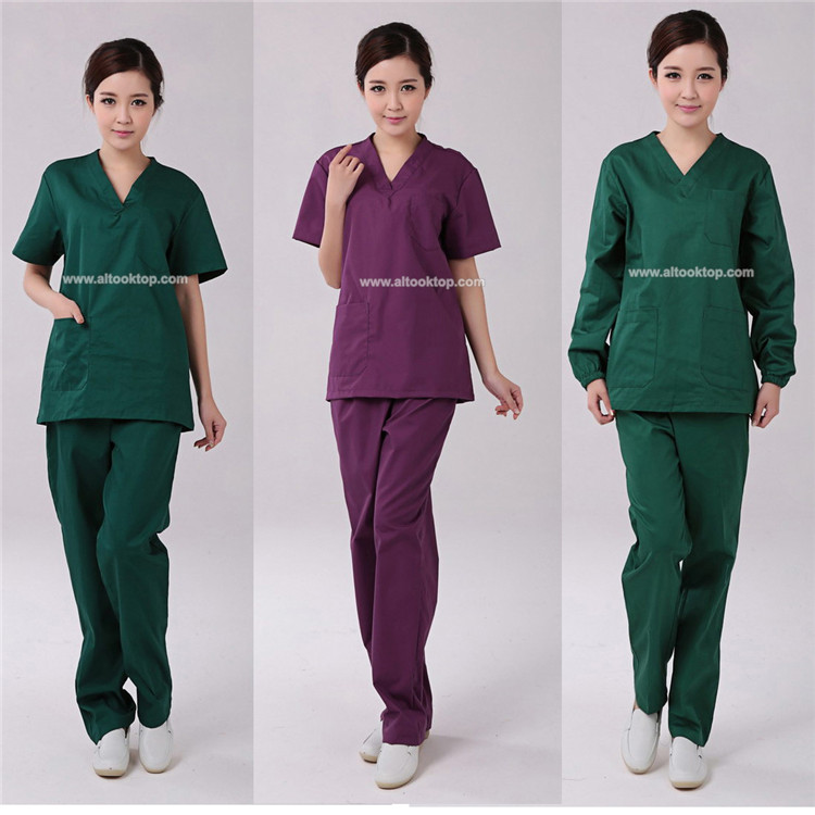 Wholesale uniformes clinicos women beauty salon nurse for Uniform design for spa