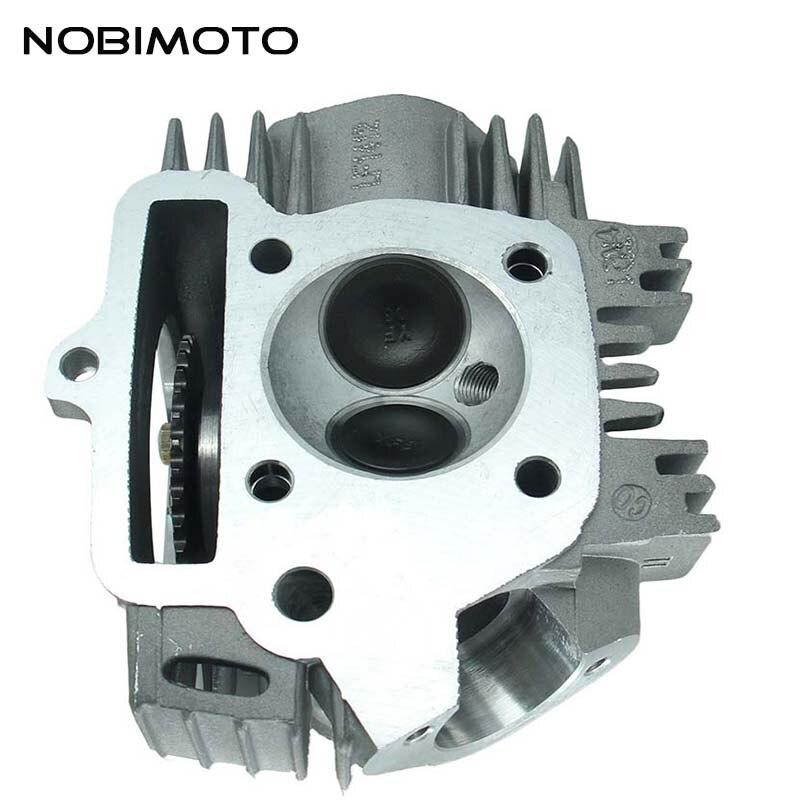 La culasse horizontale de pièces de moteur de refroidissement par air de 125cc Lifan a adapté pour le GT-139 de moto hors route de 125cc Lifan ATV