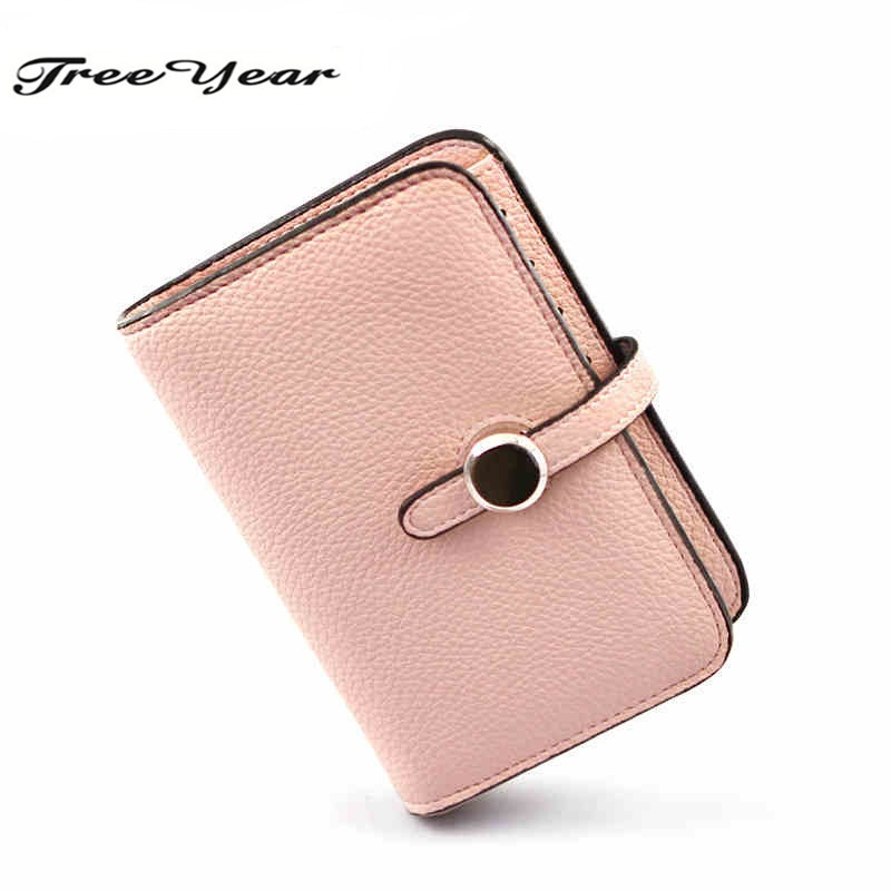 2016 Fashion HASP Women Wallet  PU leather Coin purse Card holder New arrival brand design Candy colors Small purse casual weaving design card holder handbag hasp wallet for women