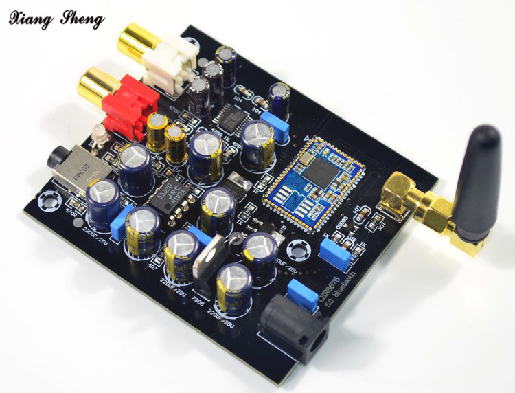 CSR8675 Bluetooth 5 0 Decoder Board PCM5102 Decoder Chip JRC5532 Op Amp CSR8675 DAC