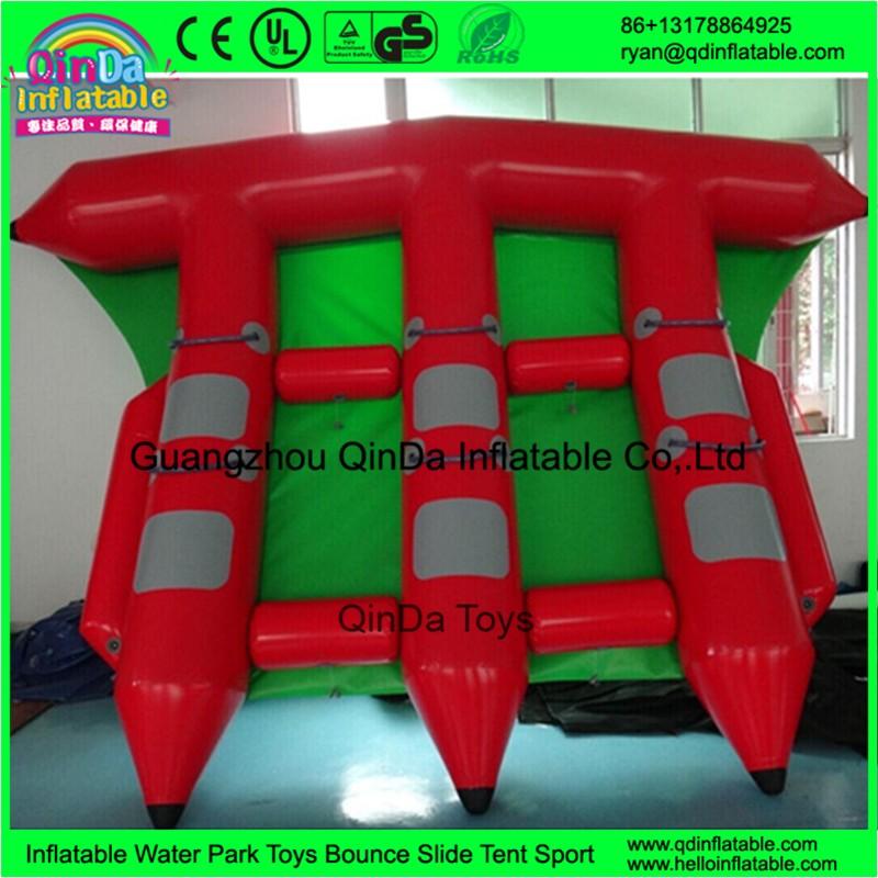 inflatable flying fish banana towable boat71