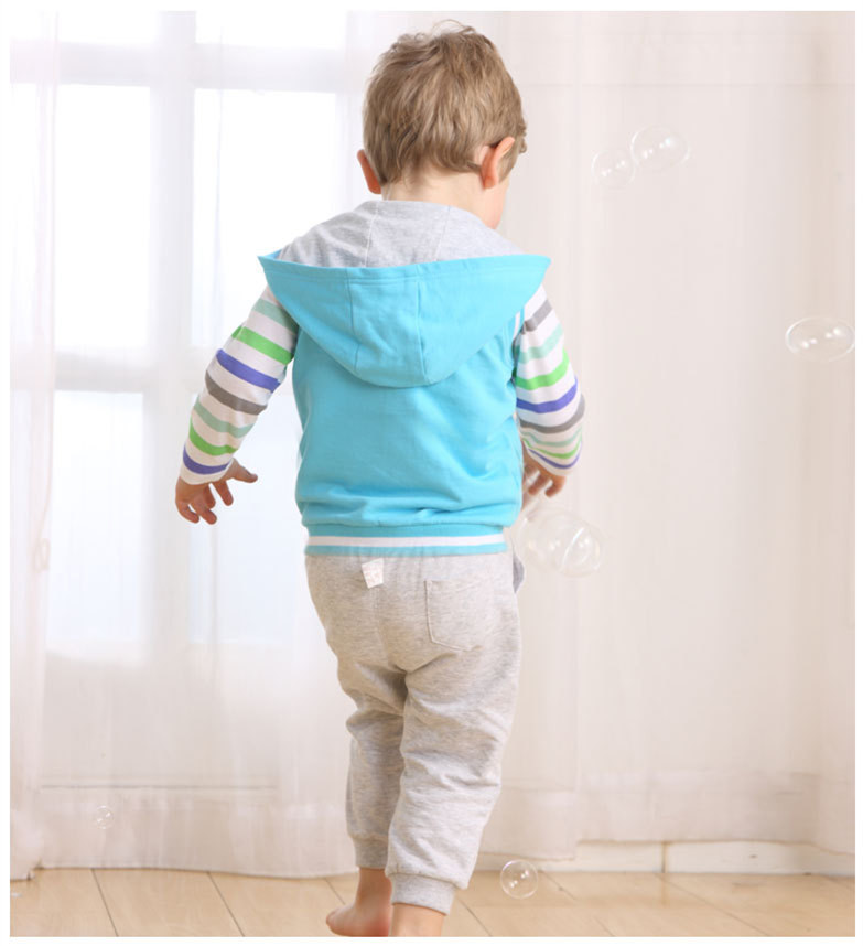 31543cdbc Baby Boys Clothing Sets Sportswear Long Sleeve T shirts Pants Vest ...