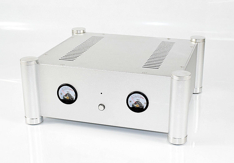 GZLOZONE Aluminum VU Meter Enclosure Chassis Power Amplifier Case 315*355*145mm L10-18GZLOZONE Aluminum VU Meter Enclosure Chassis Power Amplifier Case 315*355*145mm L10-18