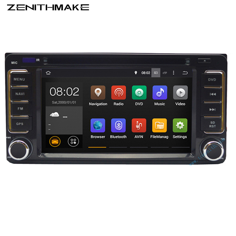 Free shipping 6 2inch Double 2Din font b Android b font Car dvd For Hilux Fortuner