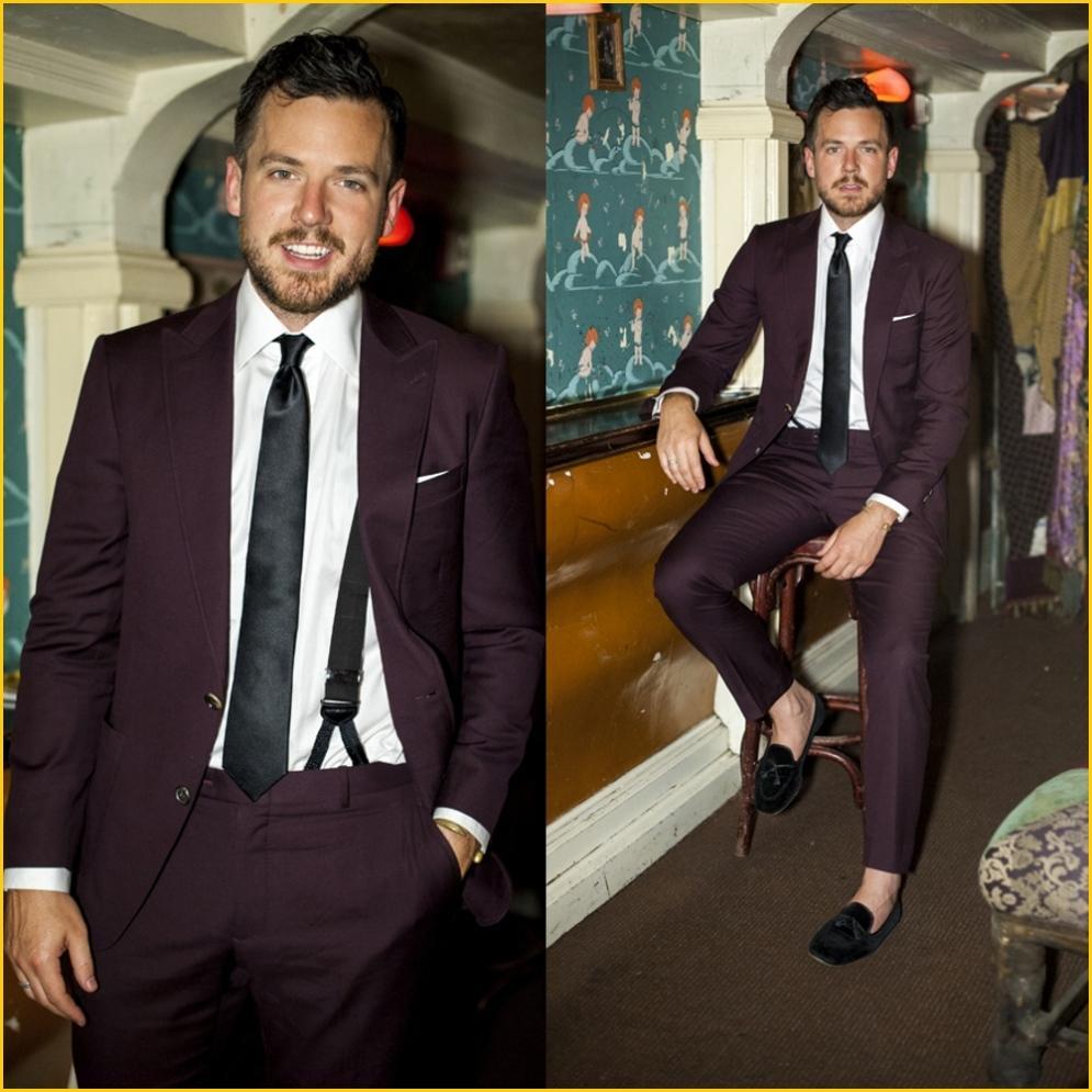 Popular Burgundy Jacket Men Prom-Buy Cheap Burgundy Jacket Men ...