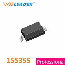 Mosleader 1SS355TE 1SS355 SOD323 0805 3000 PCS 100A 80 V 1SS 355 1SS355TE Alta qualidade