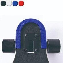 Скейтборд Палуба защита U канал дизайн резины и стали модные бамперы Bump Лонгборд танцевальная доска крушение Резиновая полоса