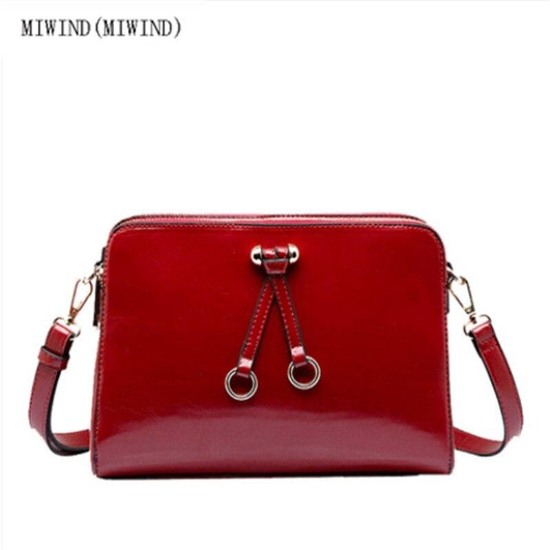 Women messenger bags leather handbags new European and American lady bag shoulder bag diagonal package