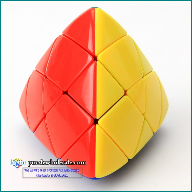 Shengshou Master Pyramorphix Magic Cube Rice Dumpling Cube Color Stickerless Cubos Magicos Puzzles