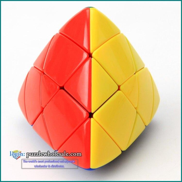 Shengshou Master Pyramorphix Magic Cube Rice Dumpling Cube Color Stickerless Cubos Magicos Puzzles
