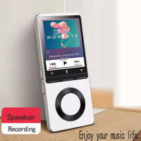 Lossless HI FI MP3 Player 4GB 8GB 16GB with FM Radio Clock E Book Reading Portable Digital Music Player Audio Lecteur MP 3