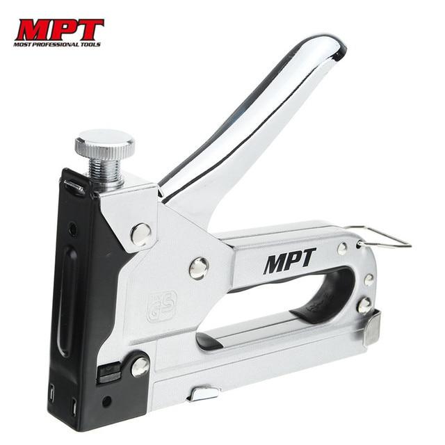 MPT MHI03002 4-14mm Manual Staple Gun Multitool Nail Gun Cl& Furniture Stapler for Wood  sc 1 st  AliExpress.com & MPT MHI03002 4 14mm Manual Staple Gun Multitool Nail Gun Clamp ...