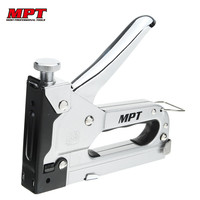 MPT MHI03002 4 14mm Manual Staple Gun Multitool Nail Gun Clamp Furniture Stapler For Wood Door