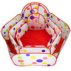 0.9-1.5m Baby Play Tents With Basketry Kids Toys Baby Playpens Mesh Indoor Outdoor Stress Ocean Ball Pool Play Yard Toys Party
