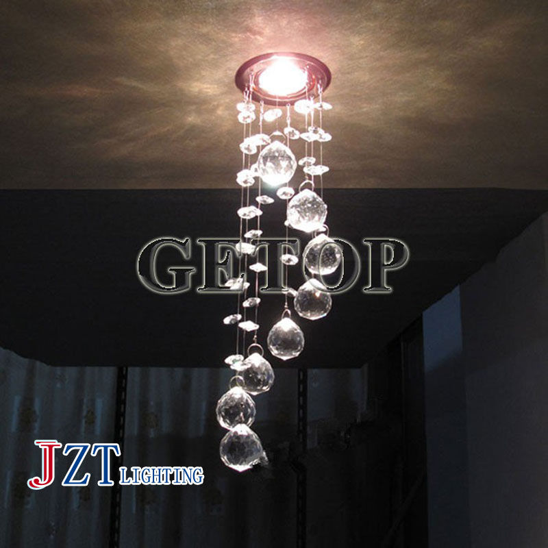 J Best Price new fashion simple 3W LED Crystal Chandelier Modern Crystal Lamps Aisle Hallway Lights Diameter 85mm x Height 300mm j best price crystal black chandelier droplight europe restoring ancient light dining room crystal lamps for bedrooms 6 lights