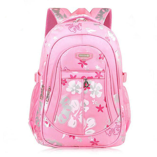 Waterproof Nylon School Bags for Teenage Girls Women Backpack ...