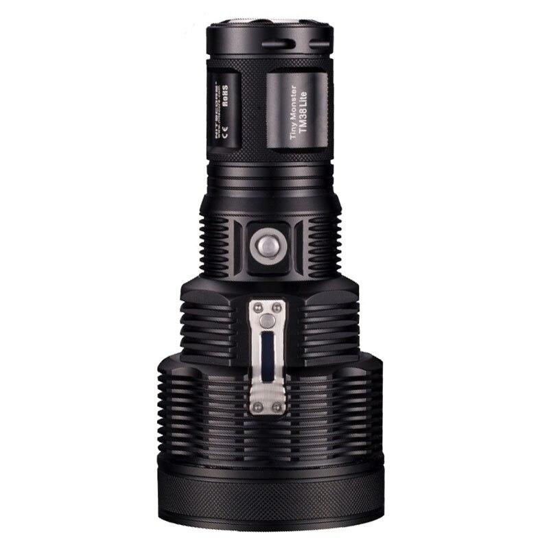 Перезаряжаемые фонарик NITECORE TM38 Lite XHP35 Здравствуйте D4 Макс. 1400LM Луч расстояние 1800LM длинный бросок факел для кемпинга и поиск