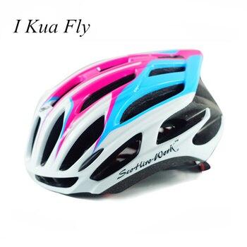 Велосипедный шлем Evade MTB дорожный велосипедный шлем сверхлегкий EPS дорожный горный Женский Мужской велосипедный шлем cascos ciclismo 4