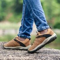 New Design Men Outdoor Hiking Shoes 2019 Non Slip Trekking Shoes Male Mountain Climbing Sneakers