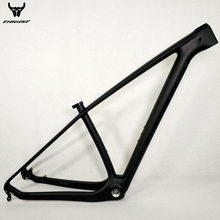Carbon mtb Mountain Bikes Frame 29er T1000 UD Cheap China Carbon Bike Bicycle Frame mtb 29er 27 5er 15 17 19 Bike Carbon Frame cheap TRIDENT THRUST MF-01 Matte 1040g+ -30G(Size 27 5er 17inch ) T1000 UD Carbon fiber Disc Brake 142*12-135*9 with Transfer