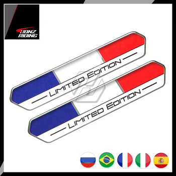 Motorbike Car Sports Frace Italy Spain Brazil Russia Limited Edition Stickers/Decals image