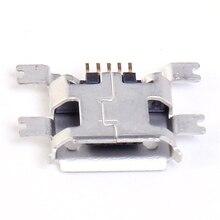 100 шт. 4 P Micro USB разъем smd USB гнездо DIY Компоненты 4PIN 4-контактный Зарядное устройство разъем зарядки usb-4p