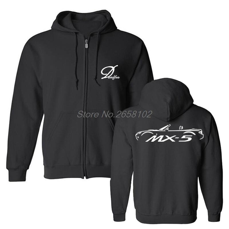 Mx-5 Mx5 Mk3 Roadster Car Hoodies Funny Men Fleece Hooded Sweatshirts Cool Coat Tops Harajuku Streetwear Fitness