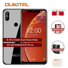 """Oukitel C13 Pro 5G / 2.4G WIFI 6.18""""19:9 Android 9.0 Face ID glass appearance 2GB RAM 16GB ROM 3000mAh mobile phone MT6739 quad"""