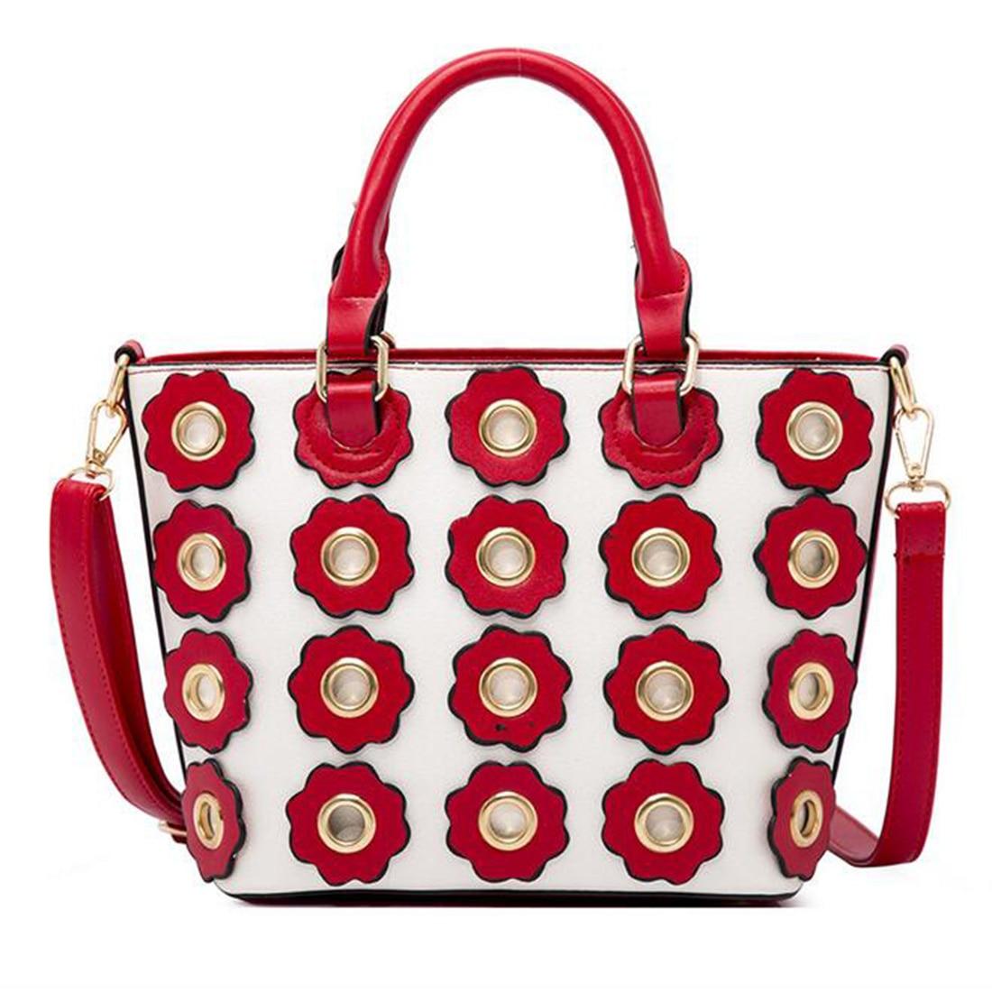 YEJIA FASHION Flower Luxury Handbag Women Bag Large Capacity Casual Totes Bags Female Shoulder Bags Summer Beach Handle Bag