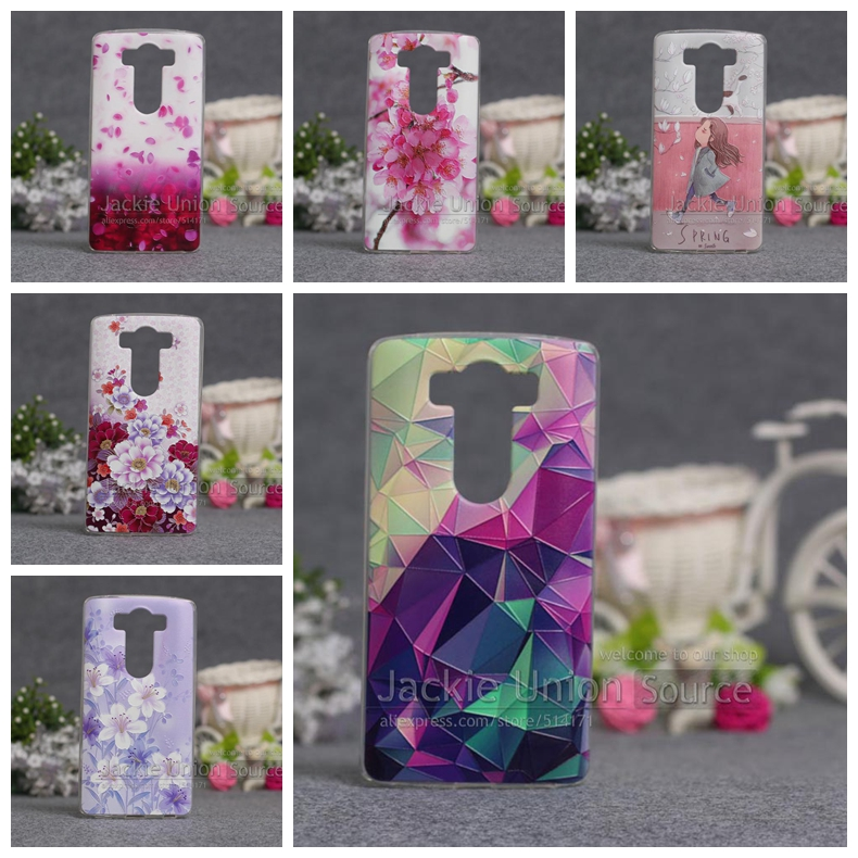 Cover For LG G4 Note G Stylo G4 Stylus LS770 Case Cover Silicone Soft TPU Cute Shell For Capa LG G4 Pro / F600L Phone Cover Case
