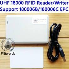 Iso 860 6c 6b do rfid da frequência ultraelevada de iso18000 960mhz 18000 mhz escritor do leitor para 18000-6b 18000-6c a copiadora cloner epc gen2 com desenvolvimento de sdk