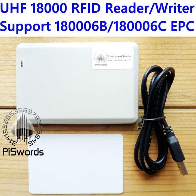 ISO18000 860Mhz ~ 960Mhz Uhf Rfid Iso 18000 6C 6B Reader Writer Voor 18000 6B 18000 6C Copier Cloner Epc GEN2 Met Sdk Ontwikkeling