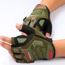 Stylish Superbike Half Glove