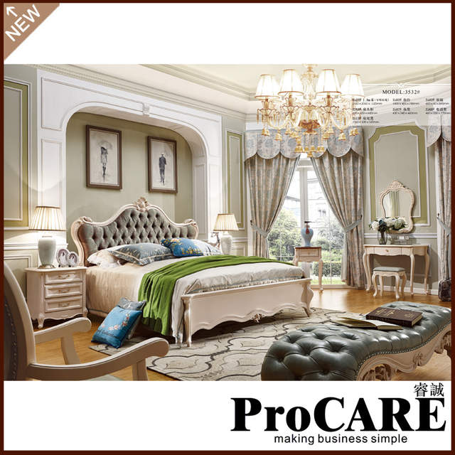 . US  3438 0  new classic furniture expensive villa bed of bedroom  furniture in Bedroom Sets from Furniture on Aliexpress com   Alibaba Group