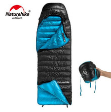Naturehike Envelope 90% White Goose Down Sleeping Bag Adult Camping Goose Down Outdoor Mini Sleeping Bags Winter Ultralight цена 2017