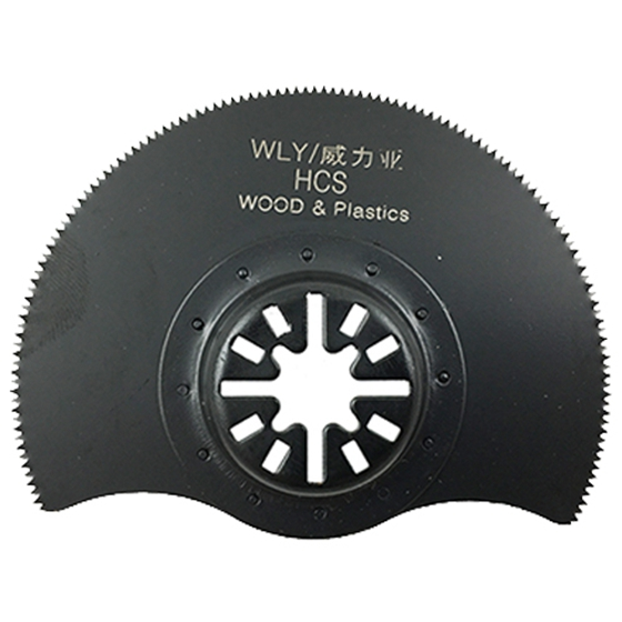 WEILIYA 85mm HCS Segment Saw Blade Oscillating Tool For Fein Multimaster Drop Shipping