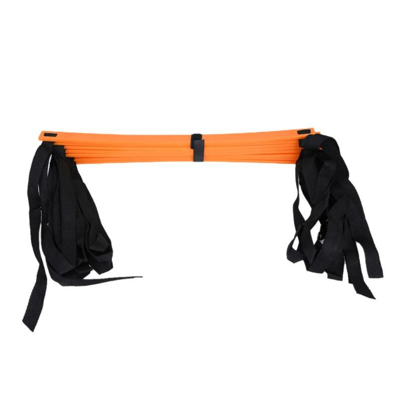 6/7/8/9/12/14 Rung Nylon Straps Training Ladders Agility Speed Stairs Sport Staircase Training Equipment