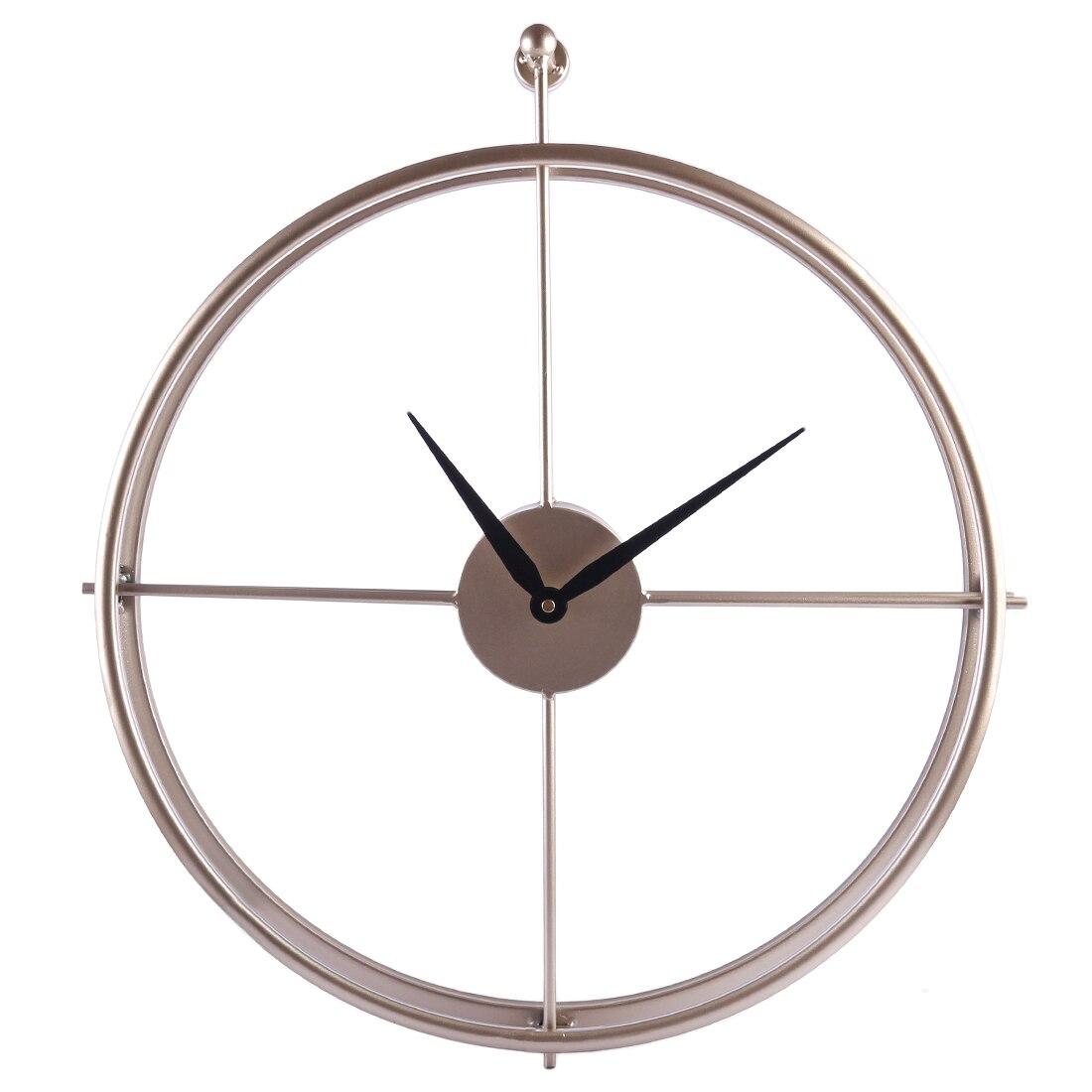 Caliente único 55 cm gran breve estilo europeo silencio de reloj de pared de diseño moderno de la Oficina para el hogar Decoración colgante de pared reloj relojes