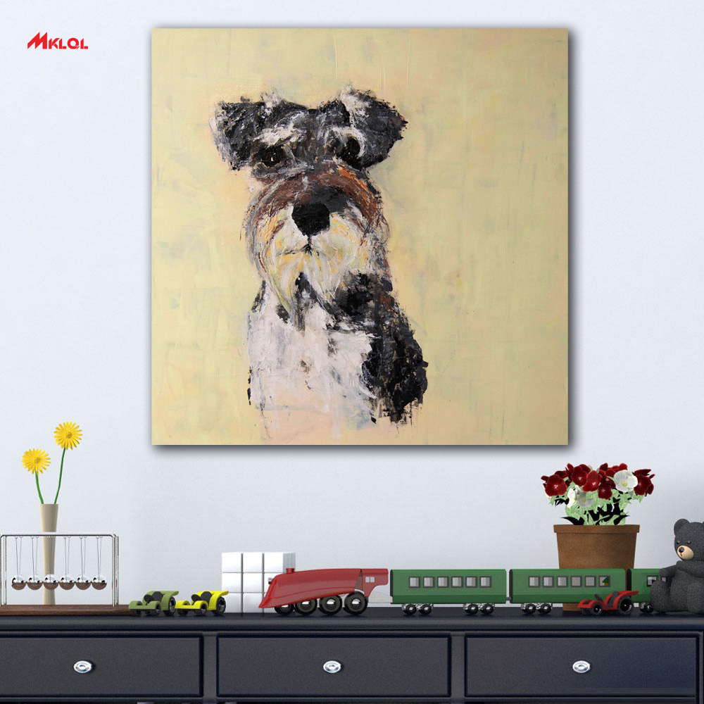 Puppy Pug Dog Wall Decals Pet Vinyl Sticker Cute Animals Home Decor ...