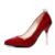 Mujeres Bombas de Punta estrecha Tacones Altos Sexy Charol Mujeres Bombas Zapatos de Boda Rhinestone Clásico de Verano Otoño Moda