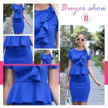 Summer Short Sleeve O Neck  Dress