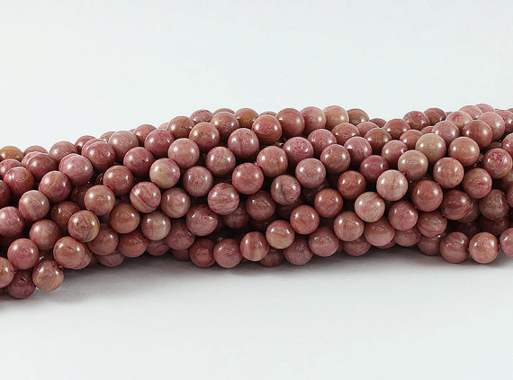"""6//8//10//12MM naturel Picasso Jasper Gemstone Round Loose Beads Necklace 18/"""" AAA"""