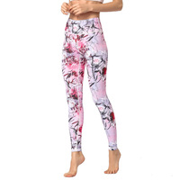 HTLD Elastic High Waist Leggings Femme Sweatpants Print Push Up Fitness Pants Skinny Leggins Mujer Hot Trousers Pantalon femme