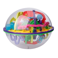 299 Level Magical Intellect Balance Logic Ability Puzzle Ball Toy Smart 3D Maze Ball Intelligence Challenge