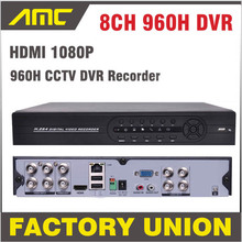 Upgraded Support HDMI CCTV DVR 8ch Full D1 DVR HVR Recorder 8ch 960h DVR H.264 Network Mobile Phone View DVR 8 Channel
